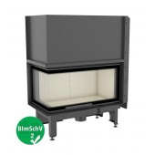 Fireplace insert NADIA 14 kW left BS Gilotyna