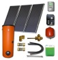 Complete solar package ENSOL (3 collectors EM1V 2,0S) /2W.300/STDC/24L for 3 - 5 people family