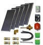 Solar package without hot water tank (5 collectors ES1V 2,0S) /STDC/35L for 6 - 8 people family