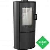 Free-standing stove KOZA AB S/DR