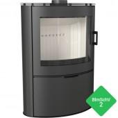 Free-standing stove KOZA AB S/2