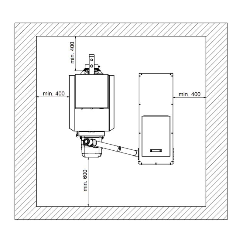 Automatischer Gussheizkessel Viadrus A0C LP - 7 Glieder mit ...