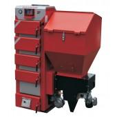 Kocioł z podajnikiem tłokowym na ekogroszek STALMARK DUO-BOSS 19-39 kW