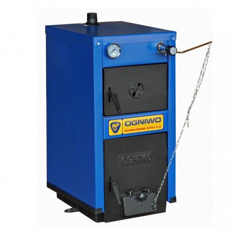 Kessel für feste Brennstoffe OGNIWO S7WC- mit Wasserrost - KOTLY.COM