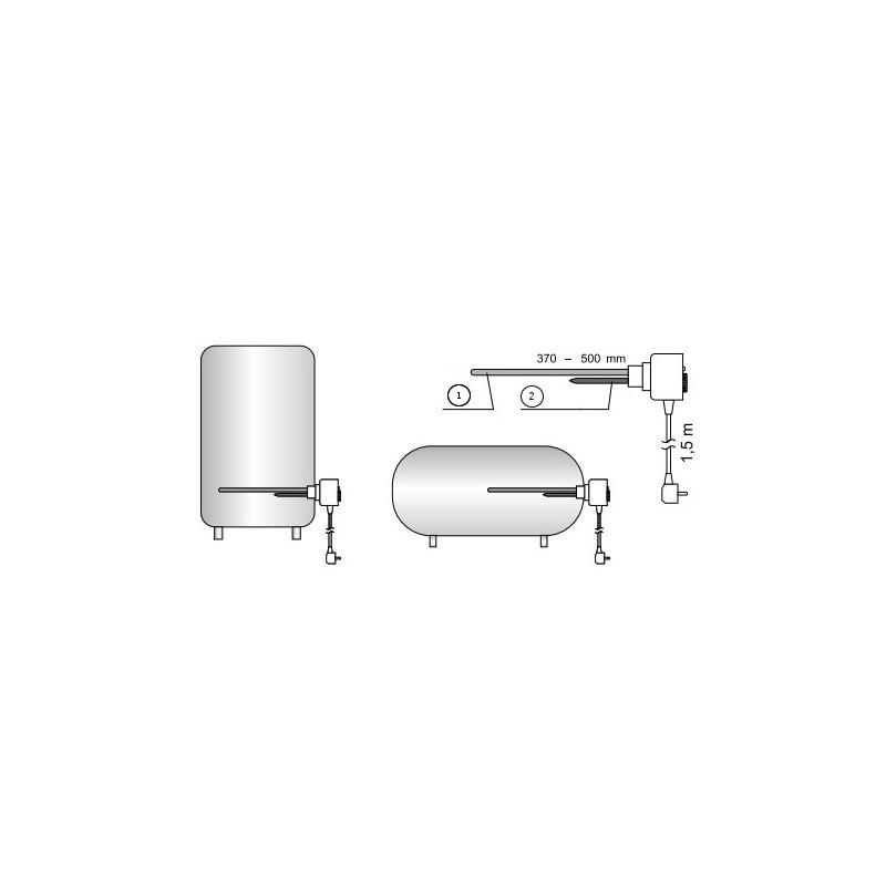 Heizpatrone für stehenden Warmwasserspeicher GWARANT MW-Serie mit ...