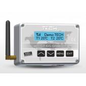 Moduł zdalnego sterowania kotła centralnego ogrzewania TECH ST-65 GSM [EU]