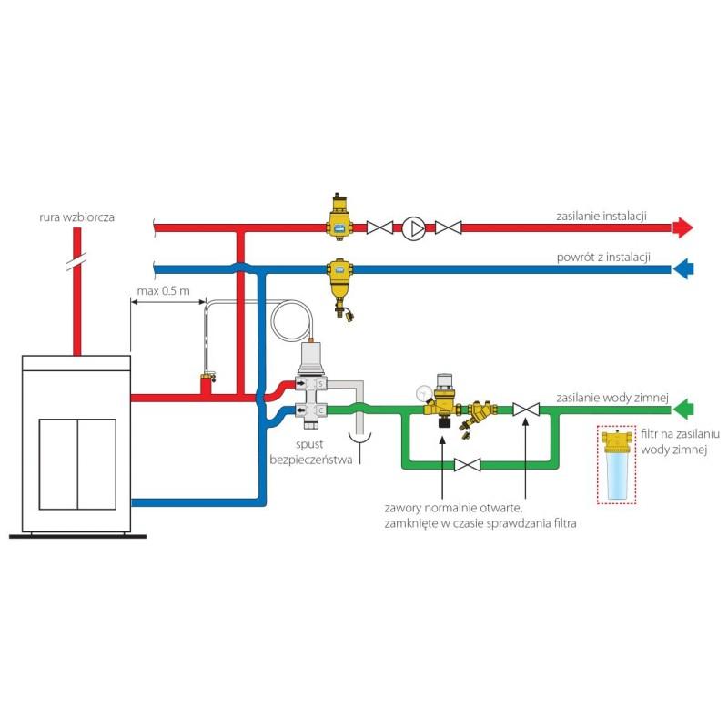 Wunderbar Schaltplan Des Motorisierten Ventils Ideen - Elektrische ...