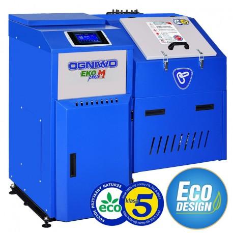 Unikalne Piec na ekogroszek OGNIWO Eko Plus M 14, 20, 26 kW z podajnikiem GC59