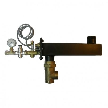Sicherheitswärmetauscher WZS-3 für Kessel bis 90 kW