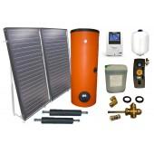 Zestaw solarny 2 kol. 2EM2V/2,0S II gat. zbiornik 2W 200L
