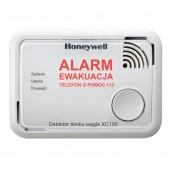 Detektor tlenku węgla Honeywell XC100 - zasilany bateryjnie