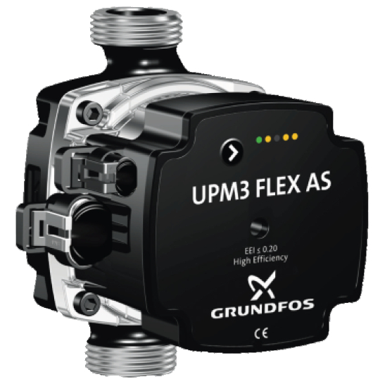 GRUNDFOS UPM3 FLEX AS www.kotly.com