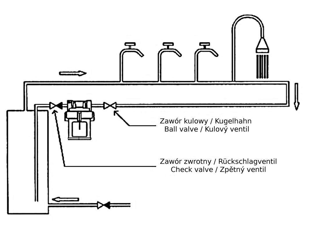 Brauchwasser Zirkulationspumpe WITA UPH 15-15 E1 - KOTLY.COM