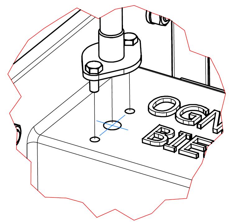 Montaż przewodu napowietrzania zasobnika paliwa OGNIWO EKO Plus